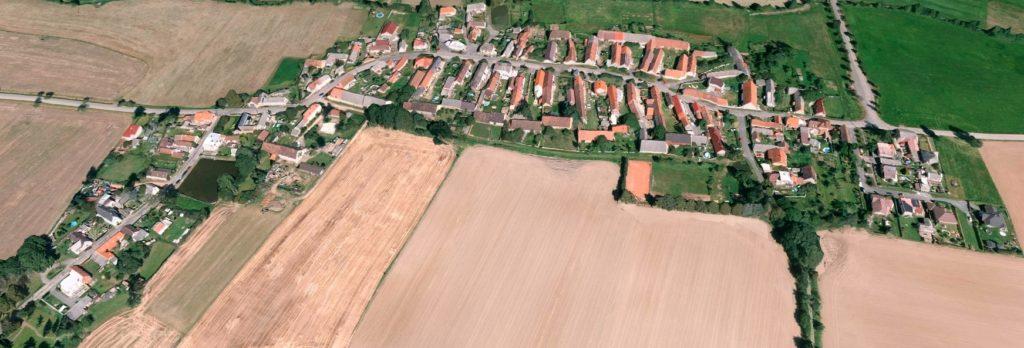Mapa obce Hlohovčice